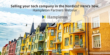 Selling your tech company in the Nordics? Here's how. tickets