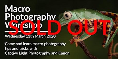 Macro Photography Workshop tickets