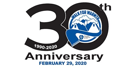 30th Annual Walk for Warmth Event tickets