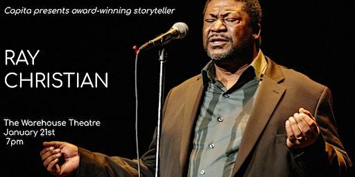 An Evening with Award-Winning Storyteller Ray Christian