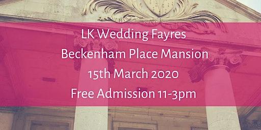 Wedding Fayre, Beckenham Place Mansion