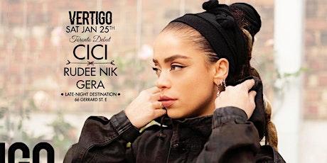 Cici ∞ Sat January 25th at Vertigo tickets