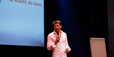 AMSTERDAM: Theatercollege Van klacht naar kans door arts en coach Juriaan Galavazi  tickets