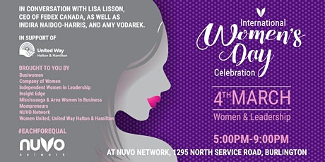 International Women's Day Celebration - Burlington tickets