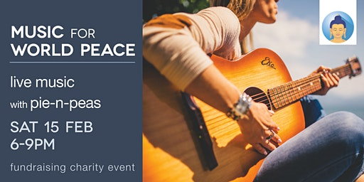 Music for World Peace - live music & pie-n-peas fundraiser