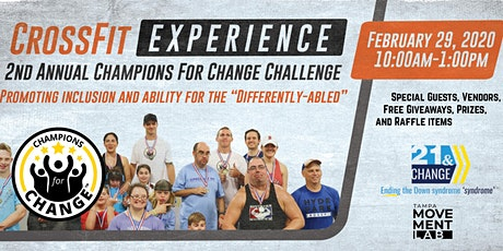2nd Annual Champions for Change  tickets