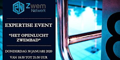 """Expertise Event - """"Het Openlucht Zwembad"""" tickets"""