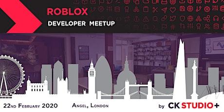 Roblox Developer Meetup tickets