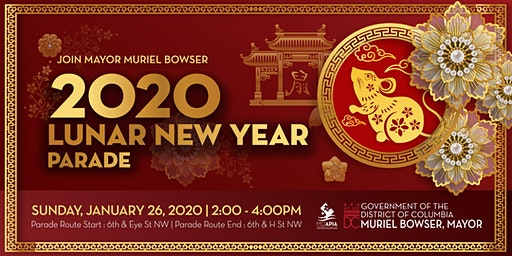 Join Mayor Muriel Bowser for the 2020 Lunar New Year Parade
