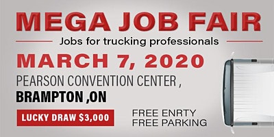MEGA JOB FAIR EVENT - SPRING 2020- BRAMPTON