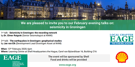 February Evening Talks: Seismicity in Groningen