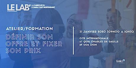 Atelier Formation #Lyon | Savoir définir son offre & fixer son prix billets
