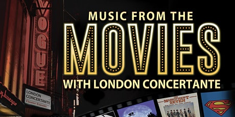 MUSIC FROM THE MOVIES - Sat 8th May tickets