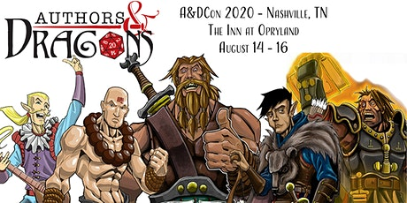 Authors & Dragons Con 2020 - Gone Country! tickets