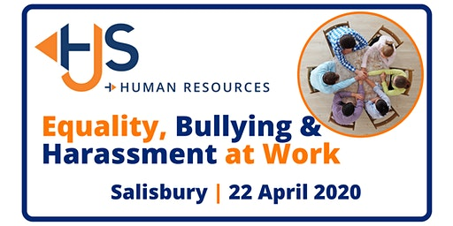Equality, Bullying & Harassment at Work - Training with HJS Human Resources