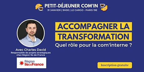 Accompagner la transformation : quel rôle pour la communication interne ? tickets