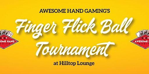Finger Flick Ball Tournament