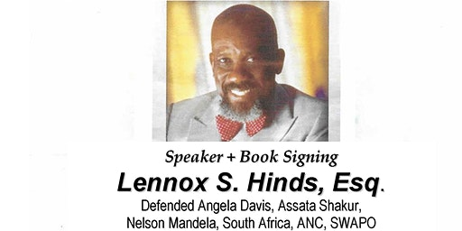 AACS Pan African Study Group Speaker Series: Lennox S. Hinds, Esq.