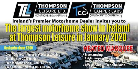 Thompson Leisure Motorhome Show tickets