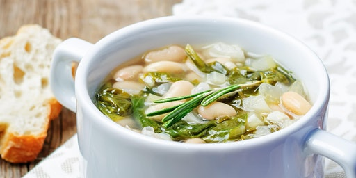 Make & Take: Rosemary, Potato, and White Bean Soup