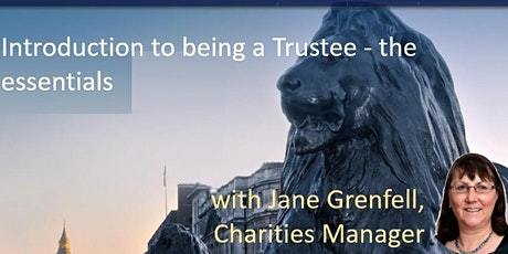 Introduction to being a Trustee - the essentials tickets