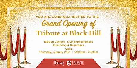 Tribute at Black Hill Grand Opening Event tickets