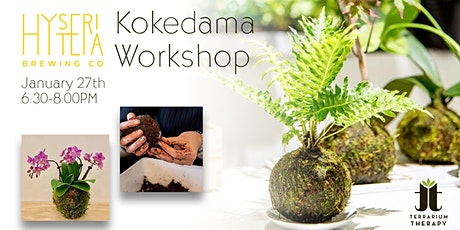 Kokedama Workshop at Hysteria Brewing tickets