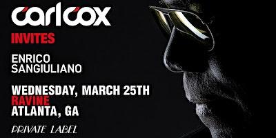 Private Label: Carl Cox Invites Enrico Sangiuliano