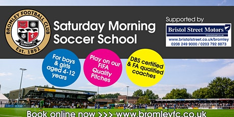 Saturday Morning Soccer School: January-April tickets