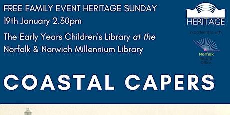 Heritage Sunday: Coastal Capers tickets
