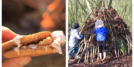 Dens and s'mores at Kingsbury Water Park