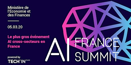 AI France Summit 2020 - Le plus grand événement AI cross-secteurs en France billets