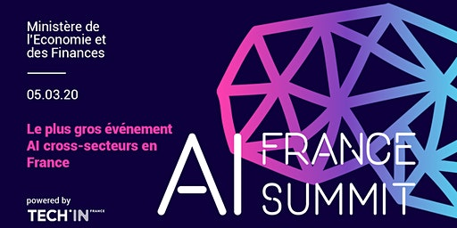 AI France Summit 2020 - Le plus gros événement AI cross-secteurs en France