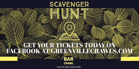 Scavenger Hunt Bar Crawl - Greenville tickets
