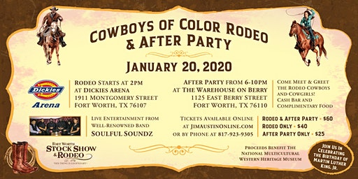 Cowboys of Color Rodeo & After Party