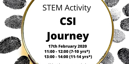 CSI Journey Free STEM Activity for 7 - 10 year olds