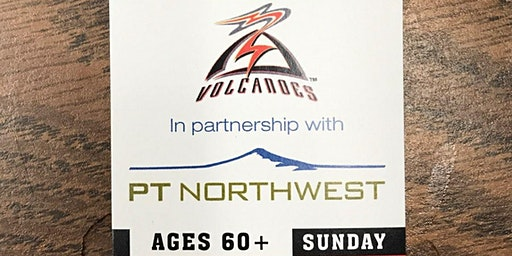 Seniors Night with the Salem-Keizer Volcanoes Sunday, August 16th