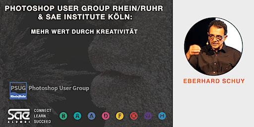 Photoshop User Group RR & SAE Institute Köln: Mehr Wert durch Kreativität