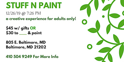 Bowie Md Exotic Sip And Paint Baltimore Events Eventbrite