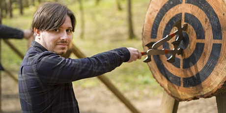 Axe throwing event 21 March 2020, 10.30am - 12pm, Bridgend tickets