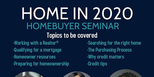 Home in 2020: Homebuyer Seminar