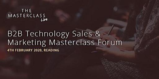 Kingpin's B2B Technology Sales & Marketing Masterclass - Reading