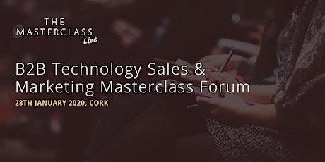 Kingpin's B2B Technology Sales & Marketing Masterclass Forum - Cork tickets