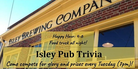 Isley Brewing Pub Trivia tickets