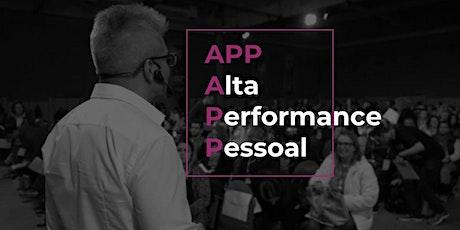 APP - Alta Performance Pessoal | 22 a 24 de maio de 2020 ingressos