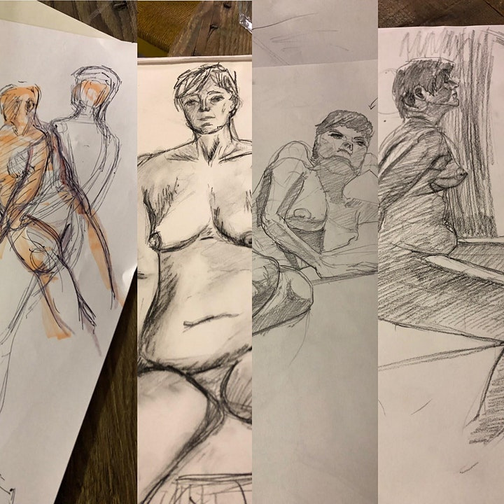 Drink and Draw: 12th August image