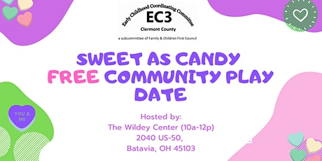 Sweet As Candy Community Play Date tickets