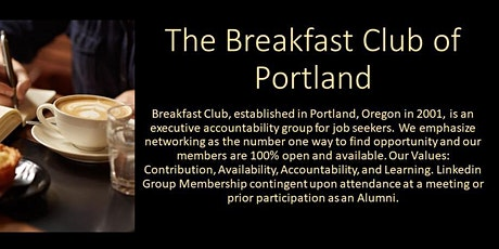 Breakfast Club of Portland (2020) tickets