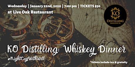 KO Distilling Whiskey Dinner tickets