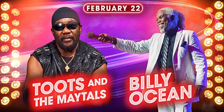 Toots and The Maytals & Billy Ocean tickets